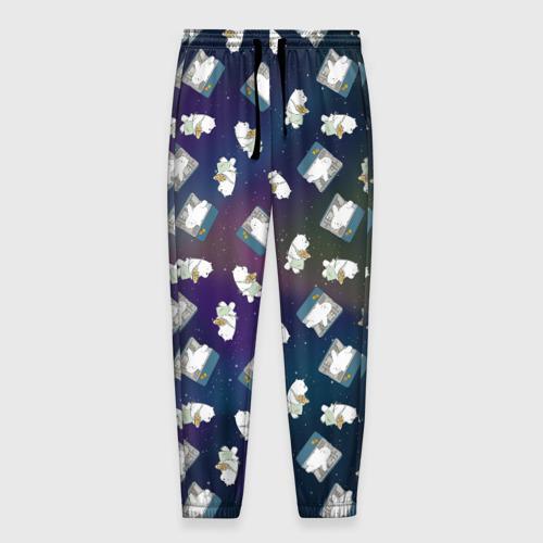Мужские брюки 3D ICe bear (pattern) Фото 01