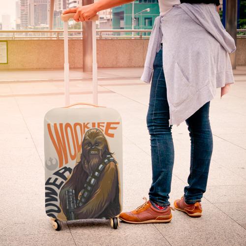 Чехол для чемодана 3D Wookie Power Фото 01