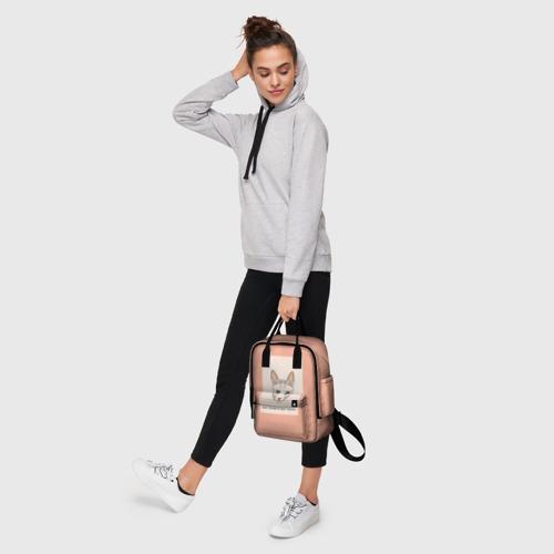 Женский рюкзак 3D Не боюсь твоего мнения! Фото 01