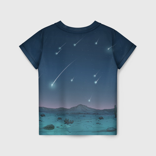 Детская футболка 3D Iсe Bear under the starfall Фото 01