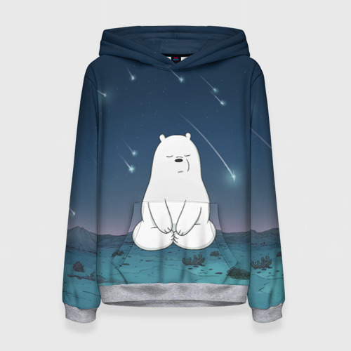 Iсe Bear under the starfall