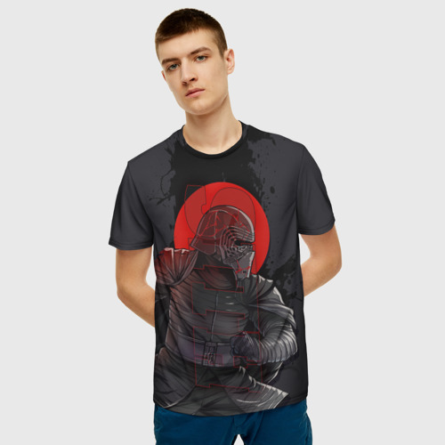 Мужская футболка 3D Kylo Ren Фото 01