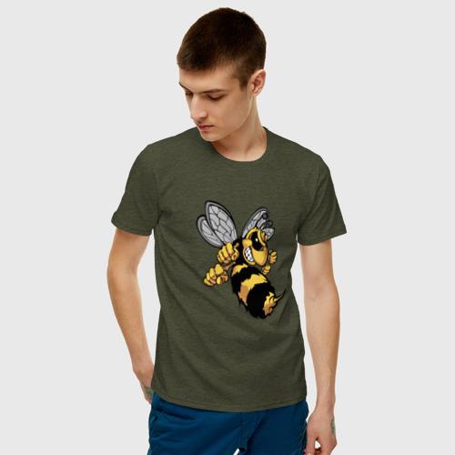 Мужская футболка хлопок Злая Пчела Фото 01