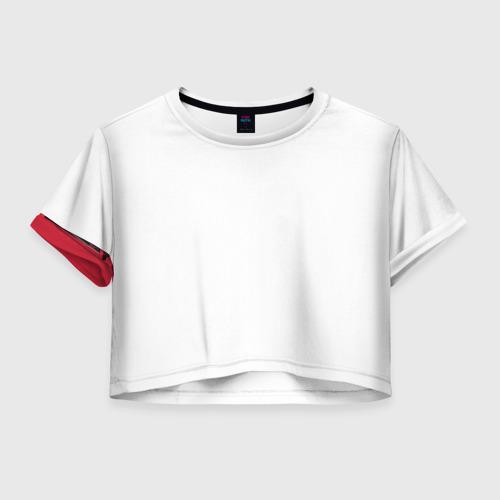 Женская футболка Crop-top 3D TIE fighter Фото 01