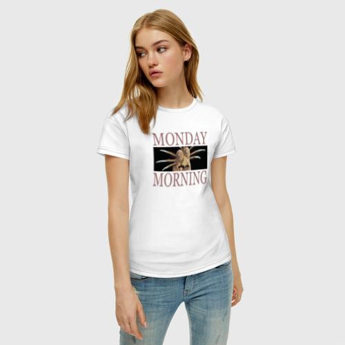 Женская футболка хлопок Monday Morning Фото 01