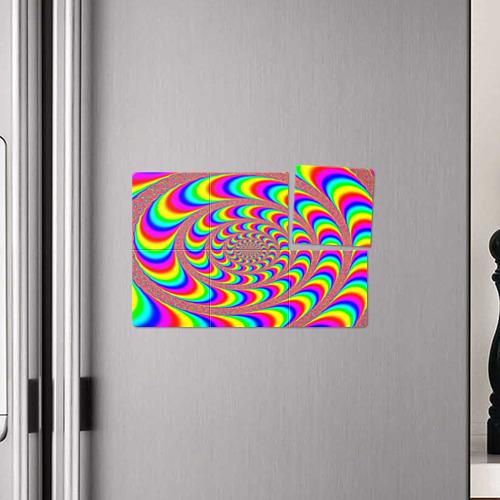 Магнитный плакат 3Х2 Оптическая текстура Фото 01