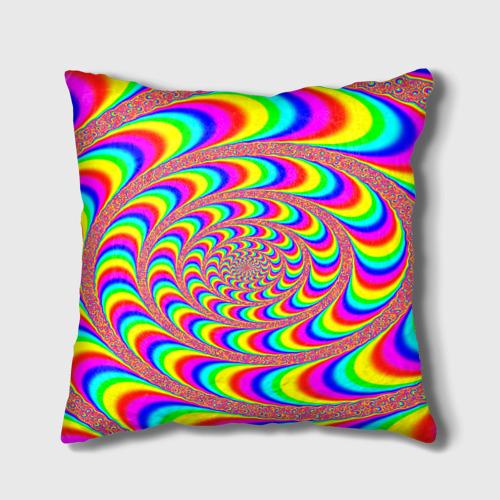 Подушка 3D Оптическая текстура Фото 01