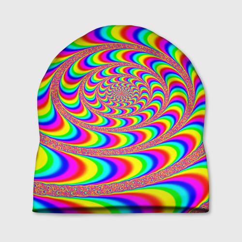 Шапка 3D Оптическая текстура Фото 01