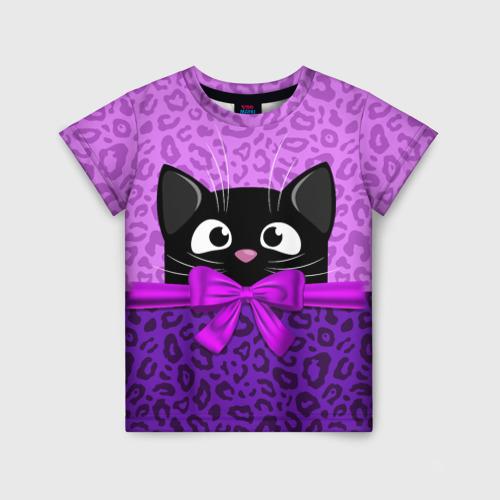 Детская футболка 3D Кошечка 104, VseMayki.ru, Россия, Детские костюмы  - купить со скидкой