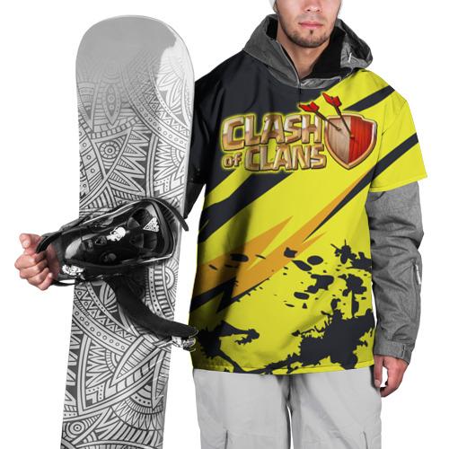 Накидка на куртку 3D Clash of Clans XL фото