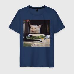 мемная картинка с котом