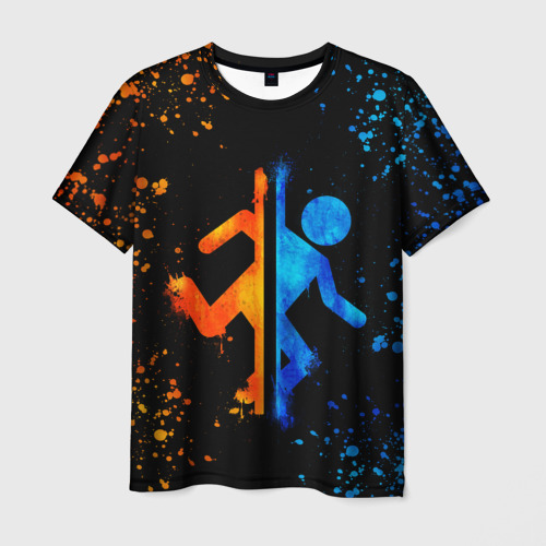 Мужская футболка 3D Portal Фото 01