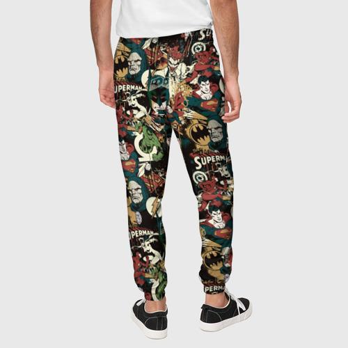Мужские брюки 3D Justice League Фото 01