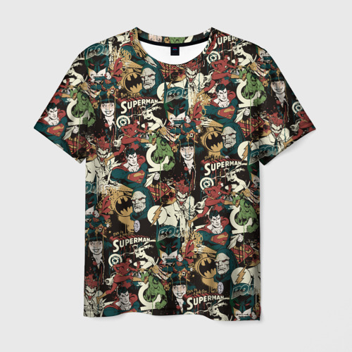 Мужская футболка 3D Justice League Фото 01
