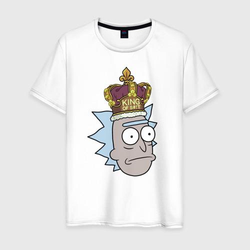 Мужская футболка хлопок KING OF S#!T Фото 01