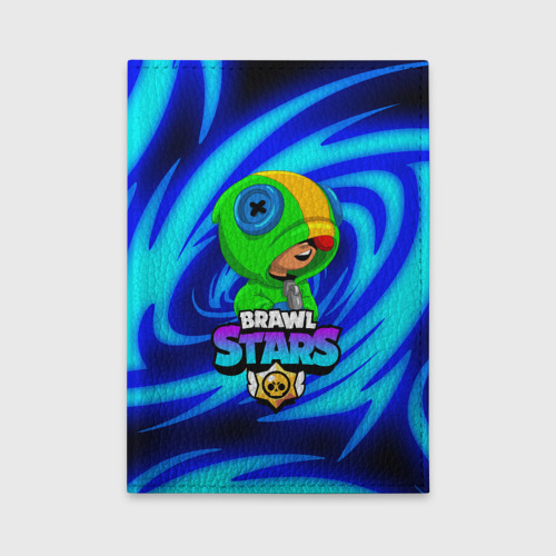 Обложка для автодокументов BRAWL STARS LEON One фото