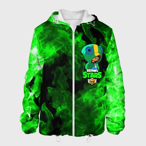 Мужская куртка 3D Brawl Stars LEON XS фото
