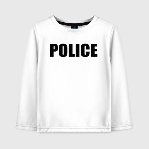 Детский лонгслив хлопок Police Фото 01
