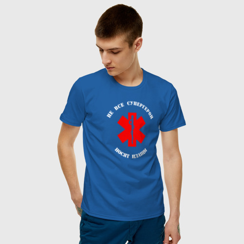Мужская футболка хлопок Медицина - супергерои Фото 01