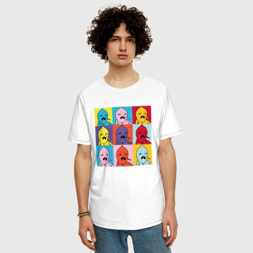 Мужская футболка хлопок Oversize Граф Лимонхват pop-art Фото 01