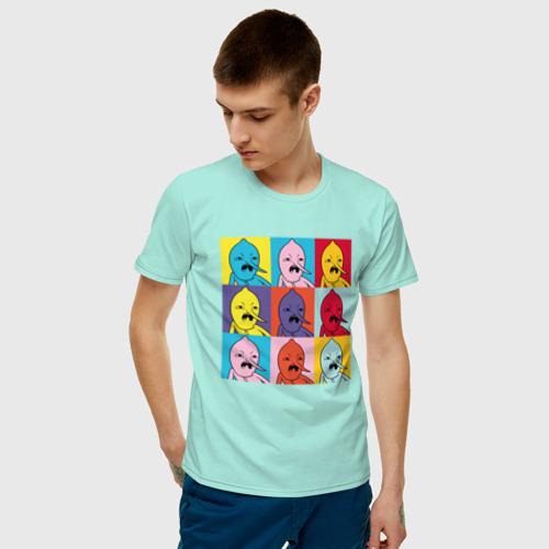 Мужская футболка хлопок Граф Лимонхват pop-art Фото 01