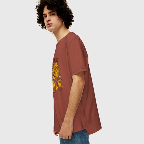 Мужская футболка хлопок Oversize Jake the dog Фото 01