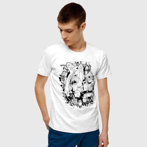 Мужская футболка хлопок Adventure Time Фото 01