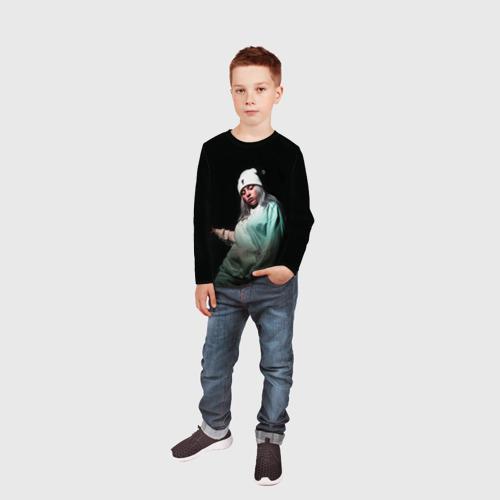 Детский лонгслив 3D BILLIE EILISH Фото 01