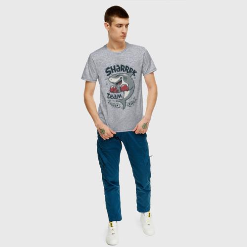 Мужская футболка хлопок Shark Team Фото 01