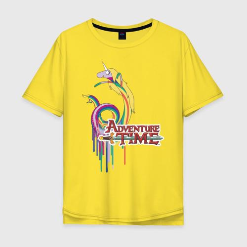Мужская футболка хлопок Oversize Lady Rainicorn Фото 01
