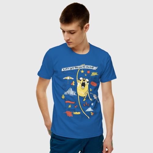 Мужская футболка хлопок  Happy Jake Фото 01