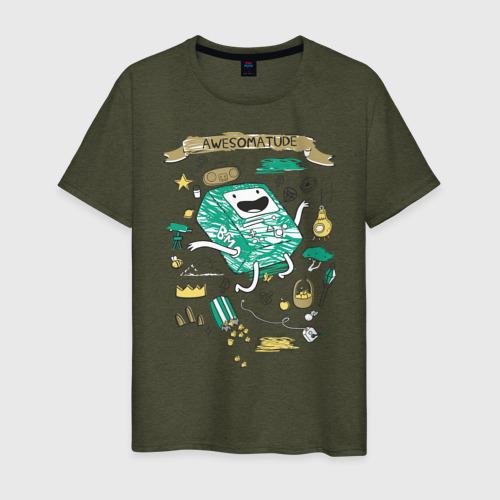 Мужская футболка хлопок BMO Фото 01