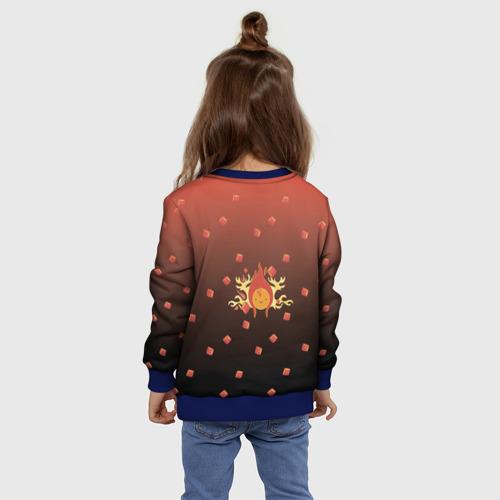 Детский свитшот 3D Flame Princess Фото 01