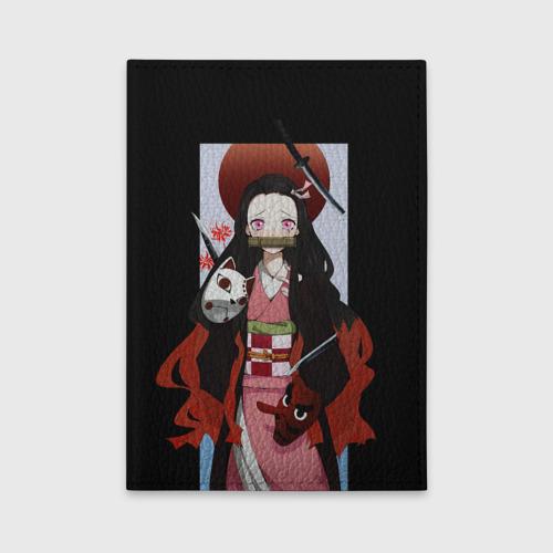 Обложка для автодокументов Клинок рассекающий демонов One фото