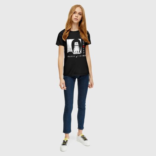 Женская футболка 3D Итачи Фото 01