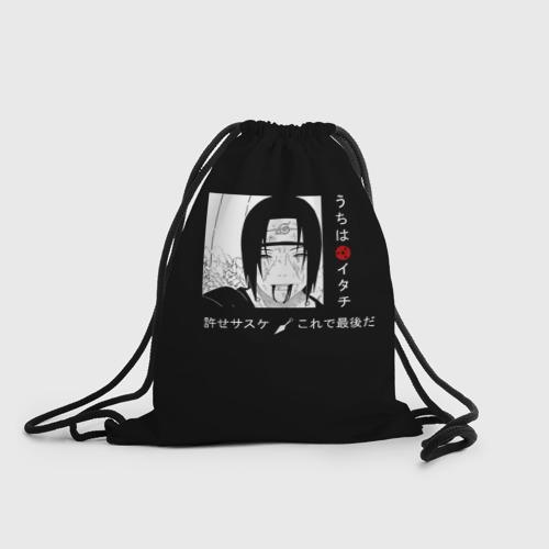 Рюкзак-мешок 3D Итачи Фото 01