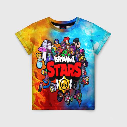 VseMayki.ru / Детская футболка 3D BrawlStars All heroes 104