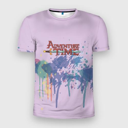 Мужская футболка 3D спортивная Adventure Time Фото 01