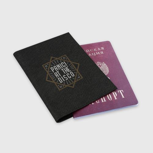 Обложка для паспорта матовая кожа Panic at the disco Фото 01