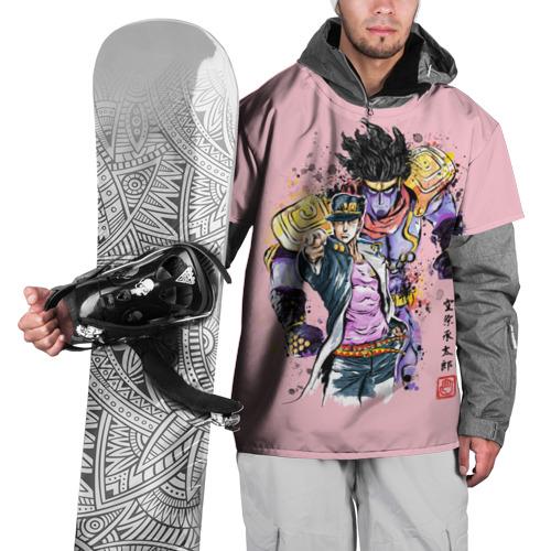 Накидка на куртку 3D JoJo Bizarre Adventure XS фото