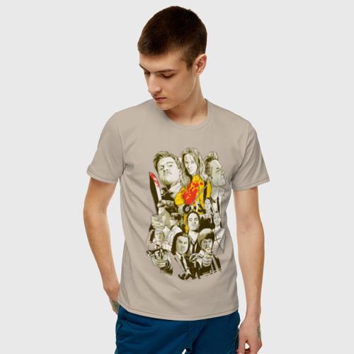 Мужская футболка хлопок Фильмы Тарантино Фото 01