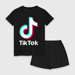TIK TOK + (НА СПИНЕ)