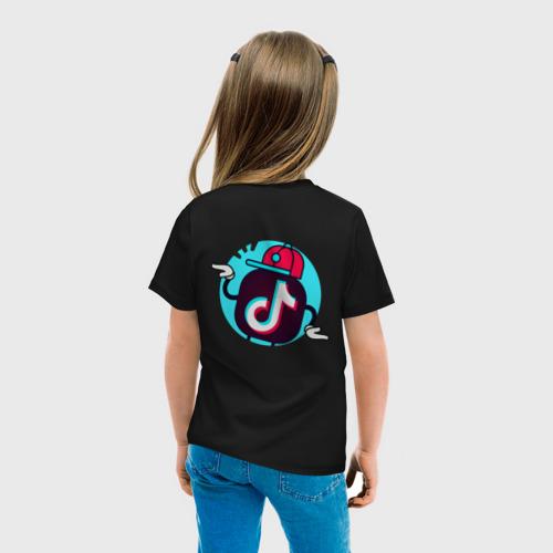 Детская футболка хлопок TIK TOK + (НА СПИНЕ) Фото 01
