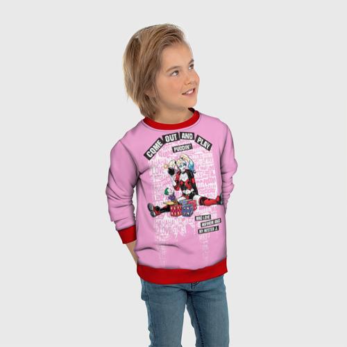 Детский свитшот 3D Harley Quinn Фото 01