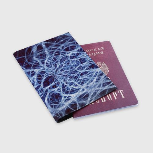 Обложка для паспорта матовая кожа Nerves Фото 01