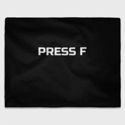 Футболка с надписью PRESS F