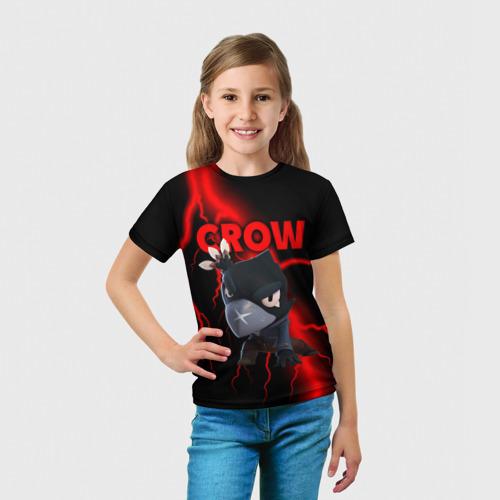 Детская футболка 3D Brawl Stars CROW Фото 01