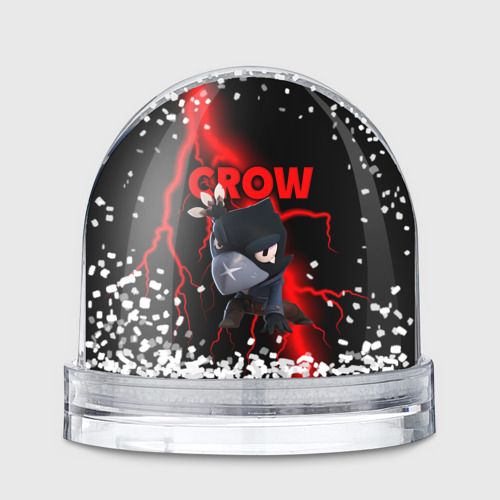 Снежный шар Brawl Stars CROW Фото 01