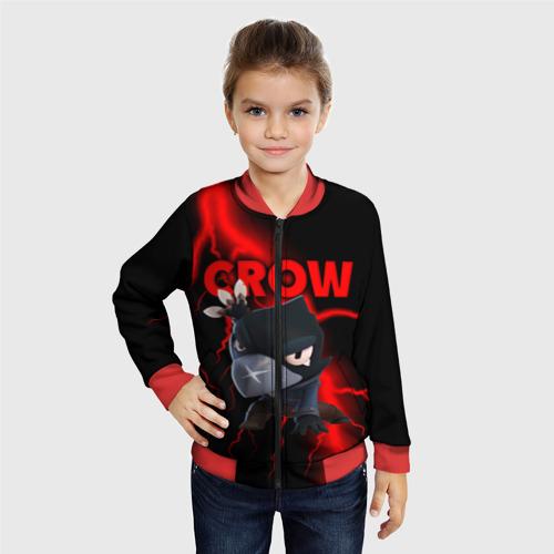 Детский бомбер 3D Brawl Stars CROW Фото 01