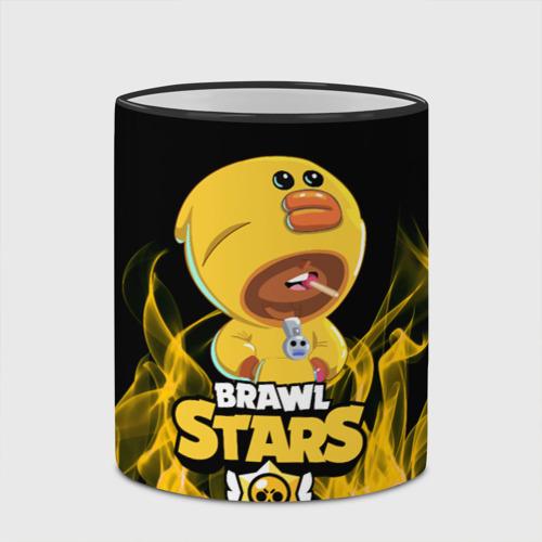 Кружка с полной запечаткой BRAWL STARS SALLY LEON. Фото 01